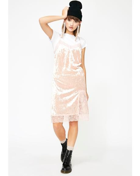 Crushin' Feelings Velvet Dress