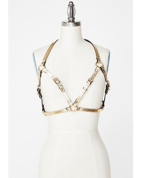 All That Glistens Bra Harness