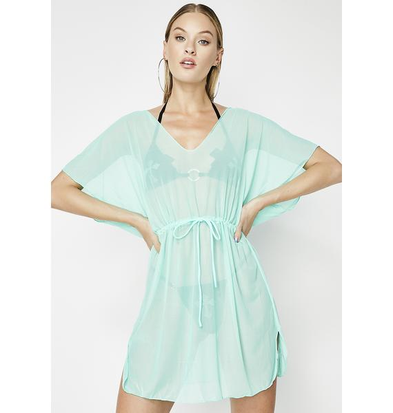 Not Ready For Me Sheer Cover Up