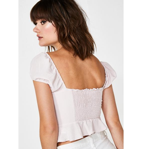 Miss Sweet N' Petite Crop Top