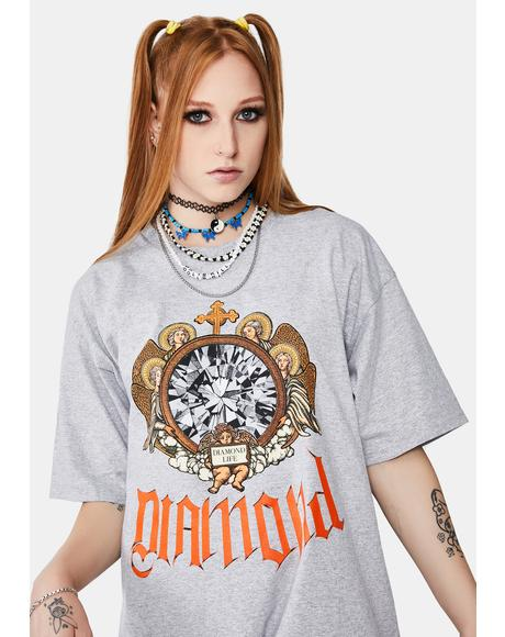 Diamond Glass Graphic Tee