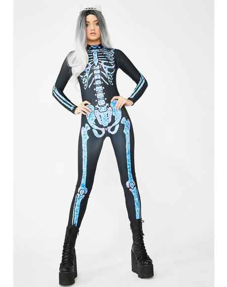 Night Queen Catsuit Costume