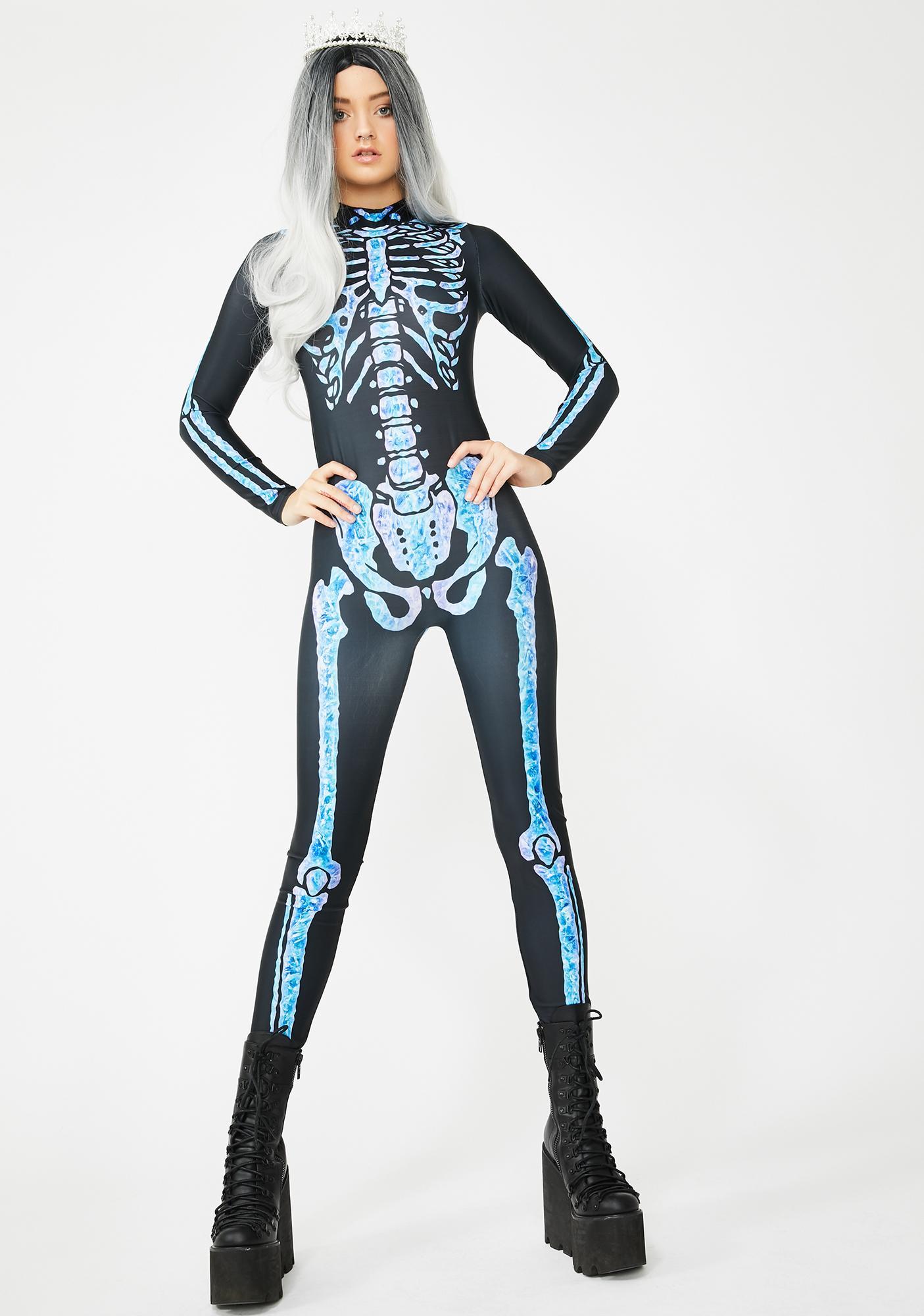 Dolls Kill Night Queen Catsuit Costume