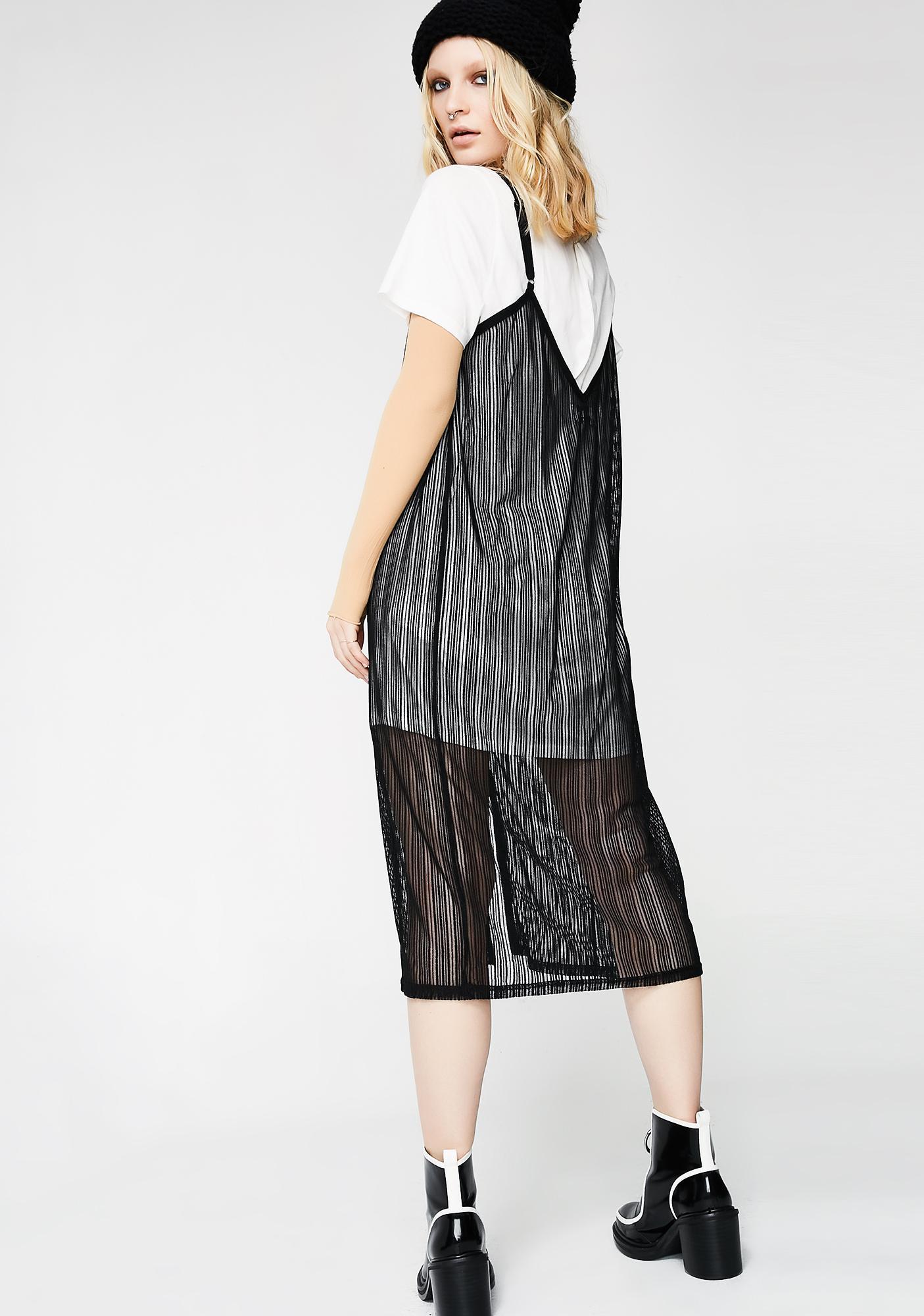 Twiin Detour Combo Slip Dress