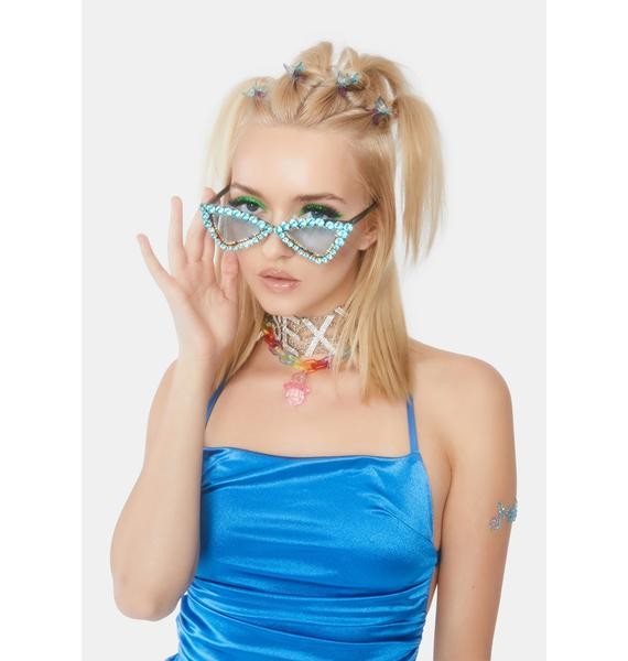 Icy Glitz Bling Sunglasses