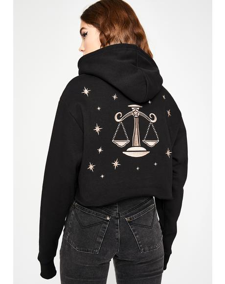Libra Magick Embroidered Hoodie