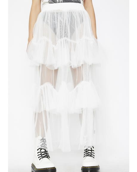 Call To Action Tulle Skirt