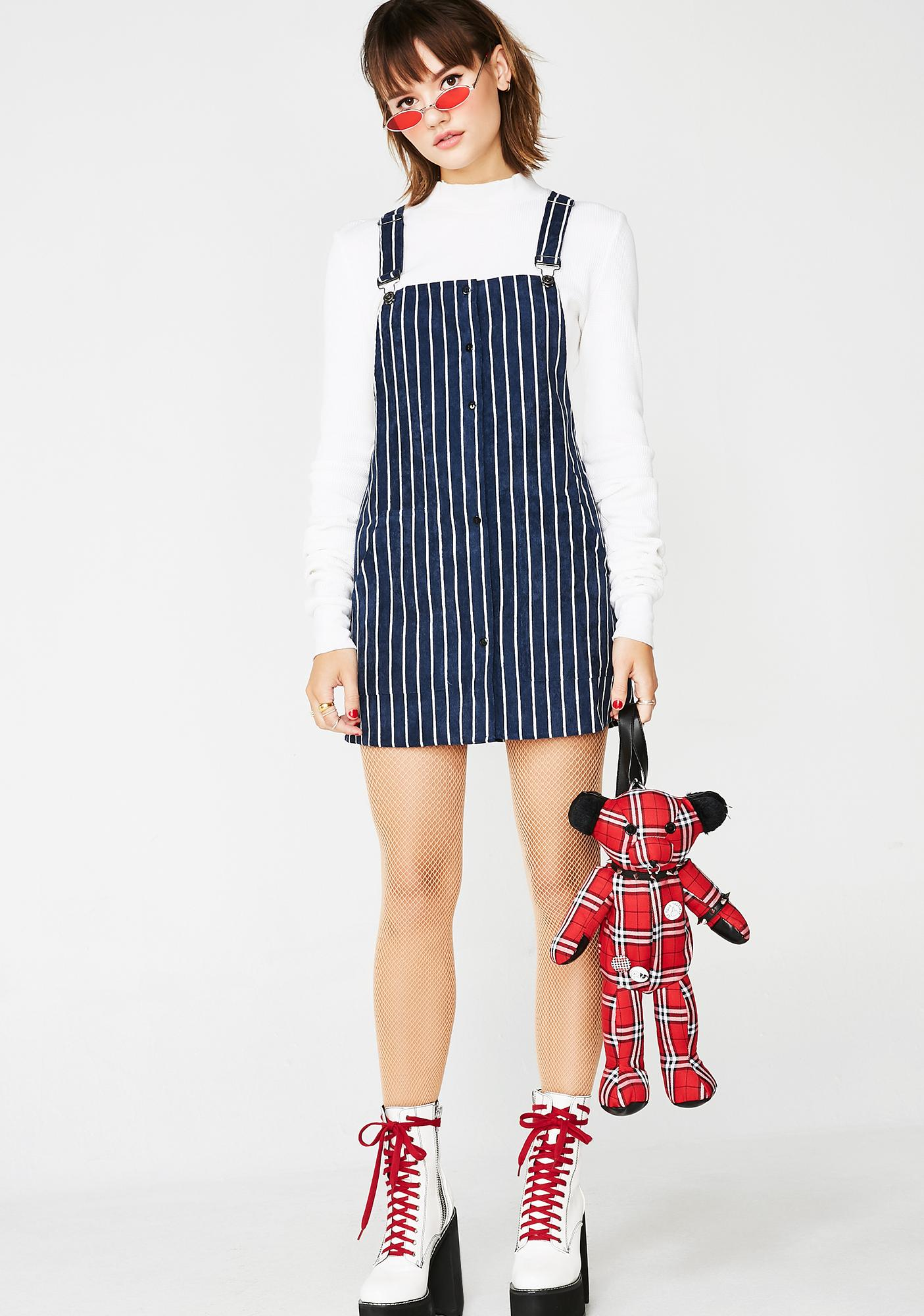 Off The Rails Overall Dress