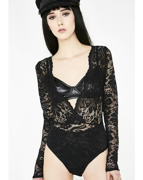 Luna Sweet Dreams Lace Bodysuit