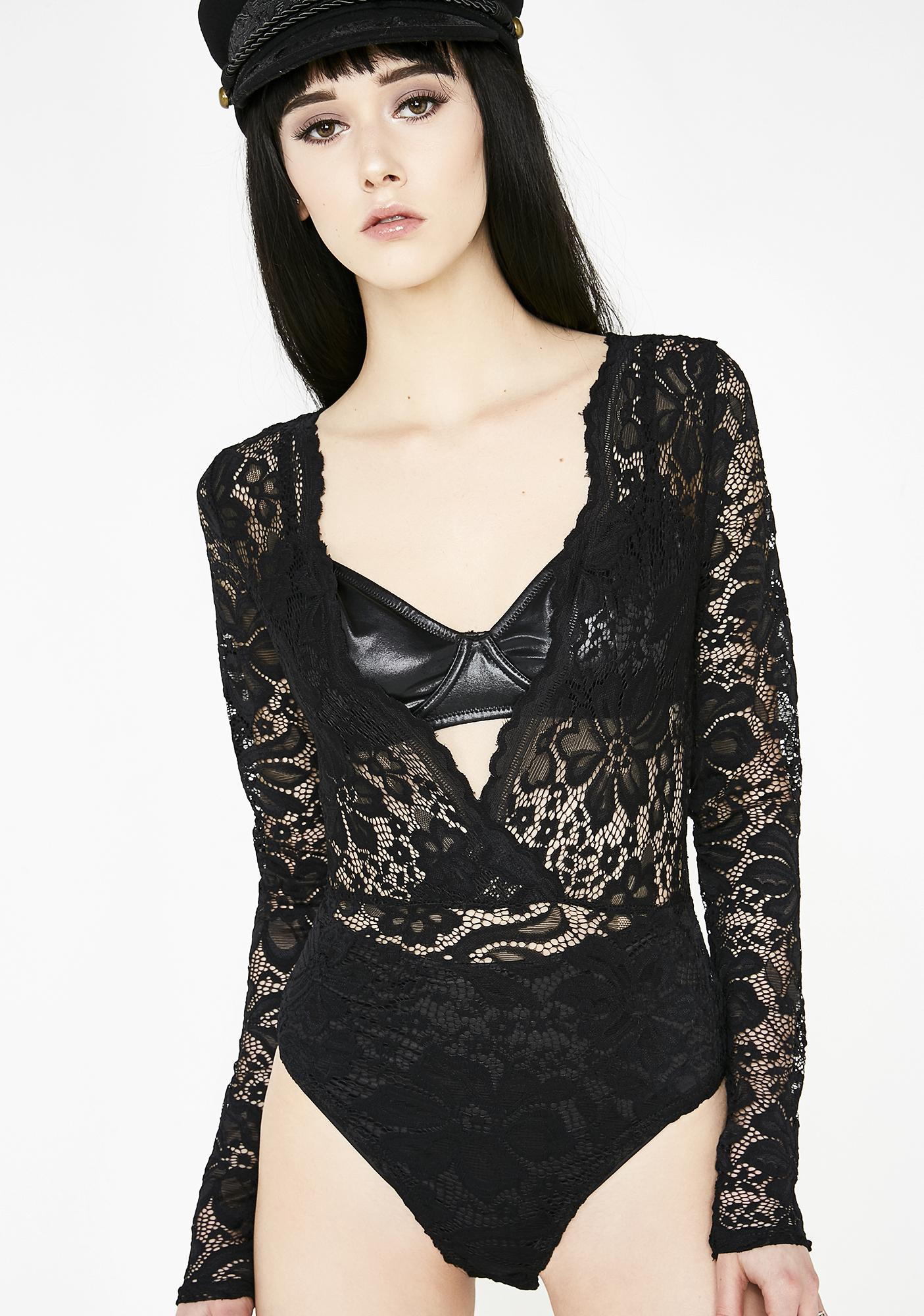 Lioness Luna Sweet Dreams Lace Bodysuit