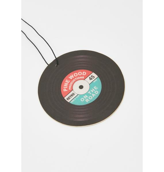 Put Some Records On Air Freshener