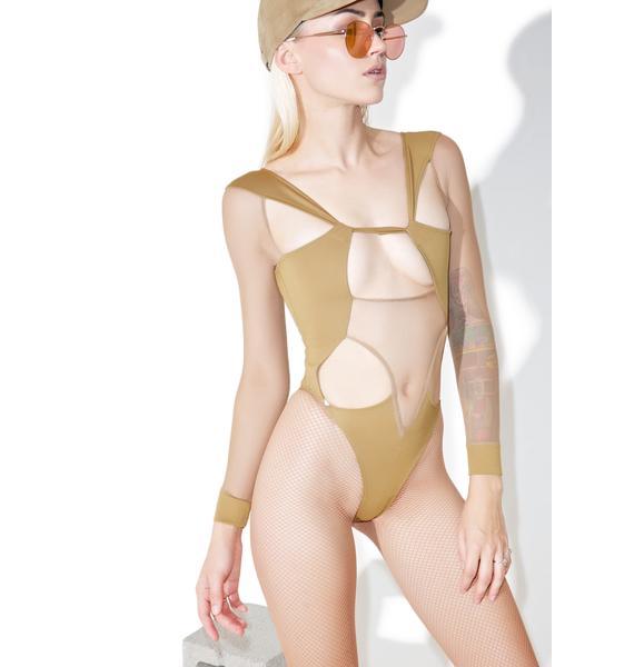 Shade London Mesh Cutout Bodysuit