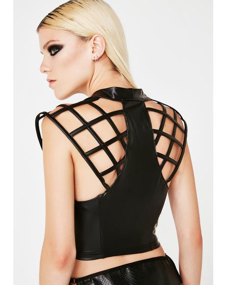 Techno Sorceress Cage Top