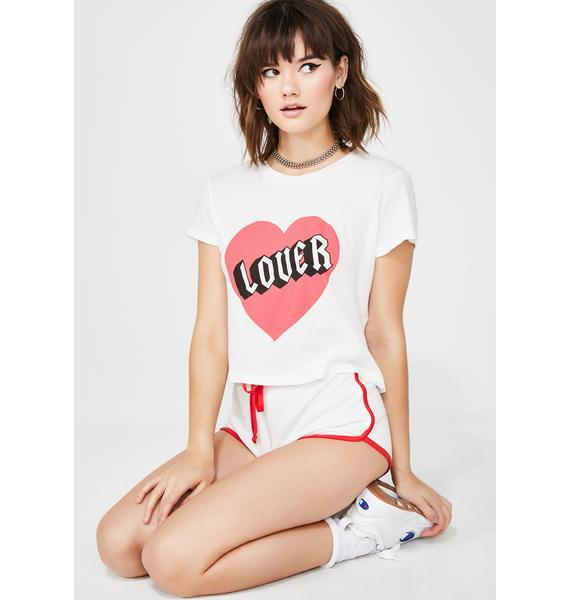 Wildfox Couture Lover Baby Tee