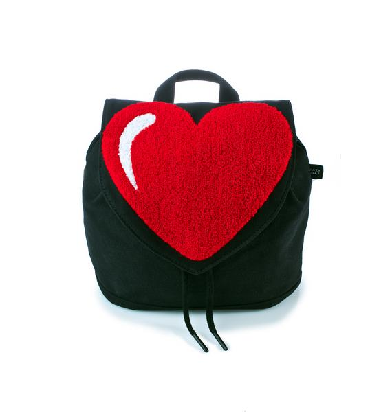 Lazy Oaf Big Heart Mini Backpack