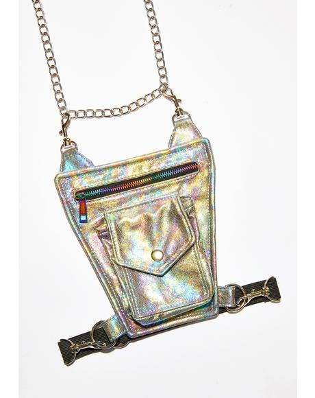 Rainbow Raider Chain Hip Bag