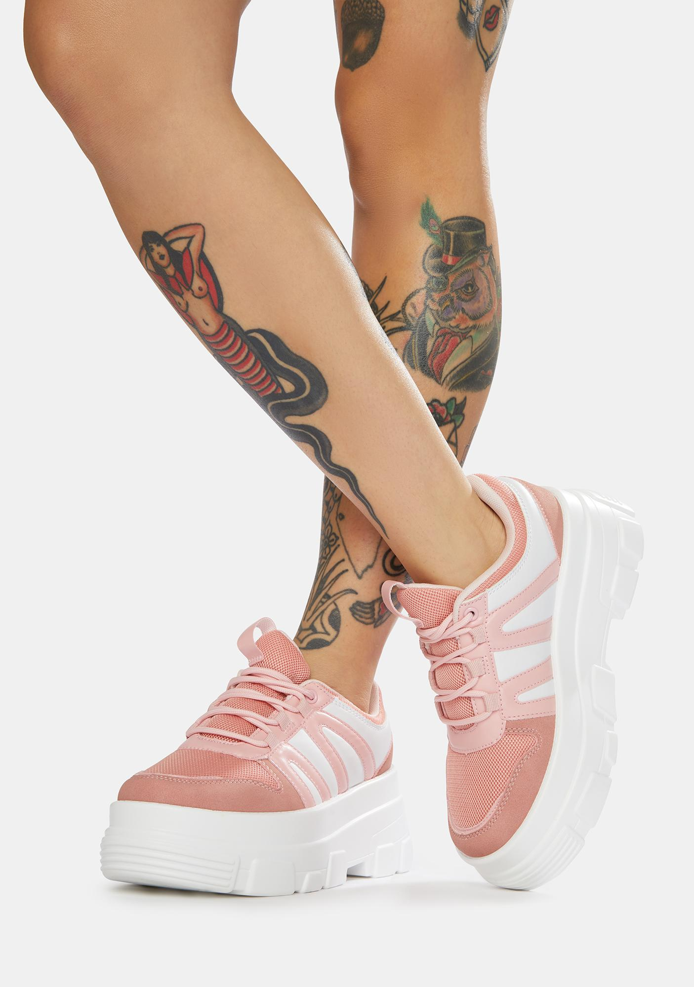 Baby If You Don't Know Platform Sneakers