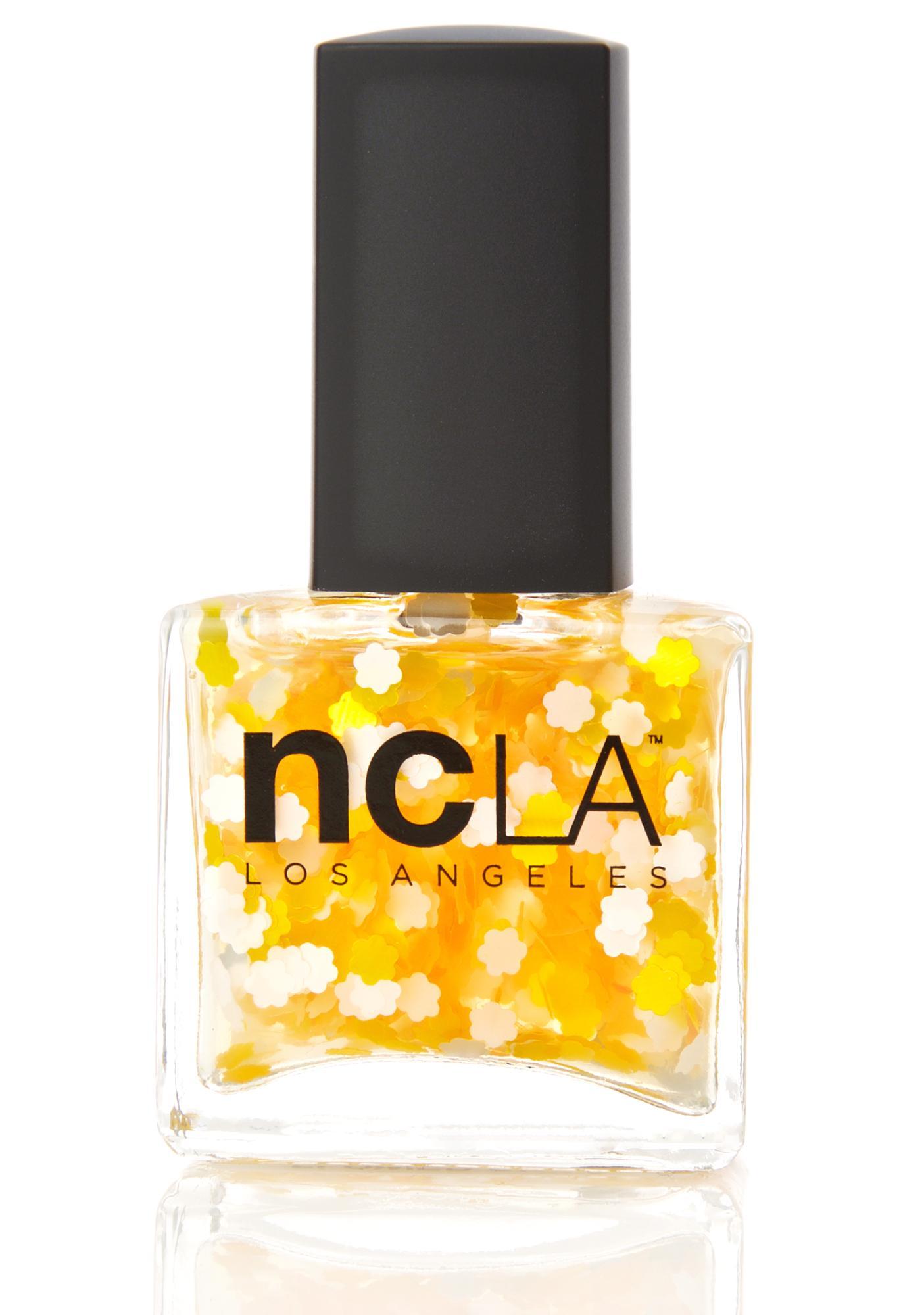 NCLA Hard Flower Glitter Nail Polish