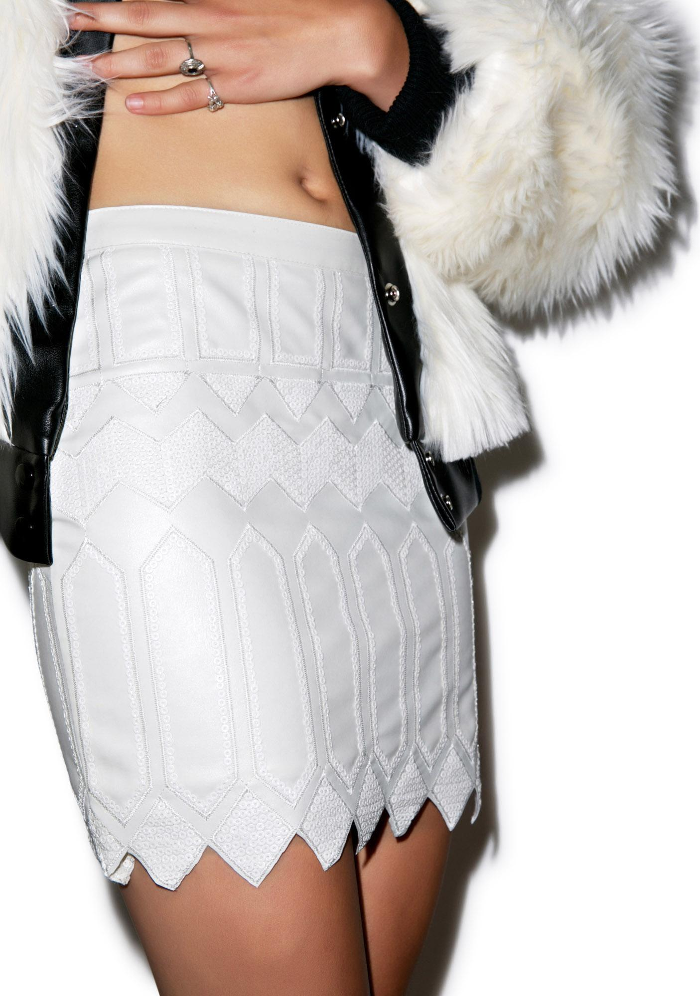 Tribal Moto Skirt