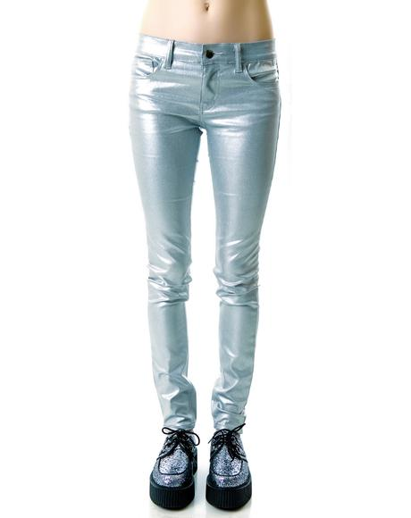 Shimmer Stretch Jeans
