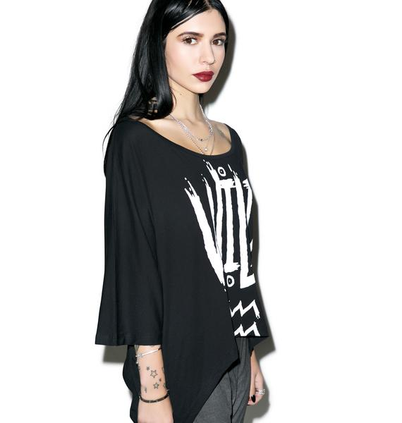Killstar Aquarius Drape Top