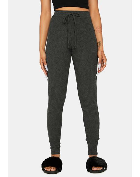 Charcoal My Own Way High Waist Leggings