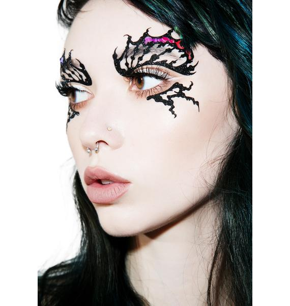 Face Lace Butterfly Iridescence Face Lace