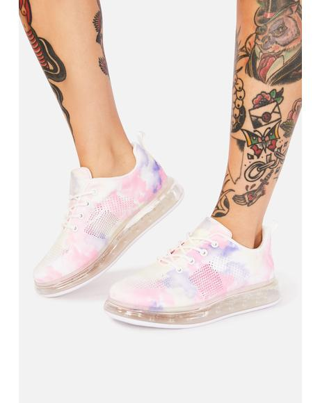 Pink Cosmic Clubland Sneakers
