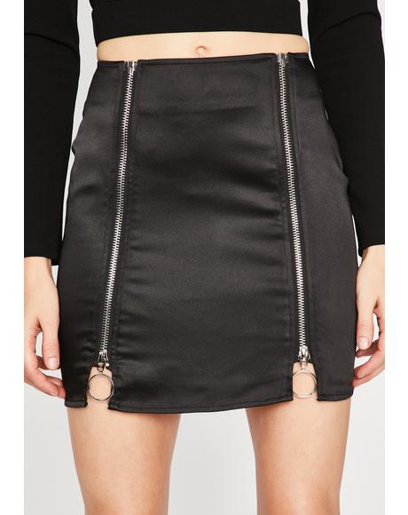 Fly Nation Bomber Skirt
