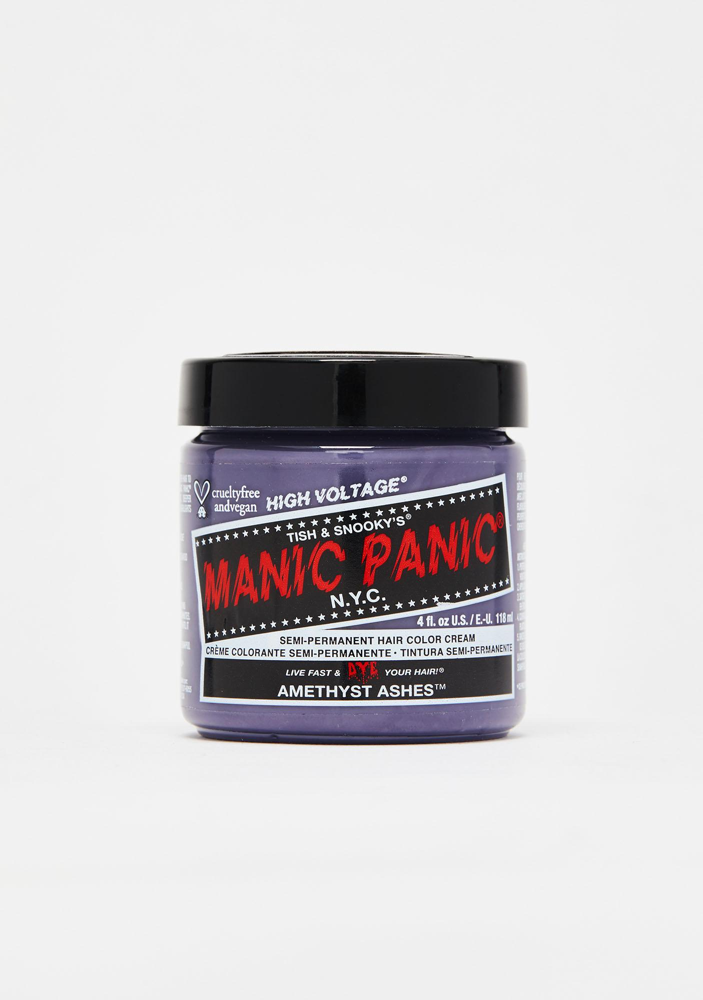 Manic Panic Amethyst Ashes Classic High Voltage Hair Dye