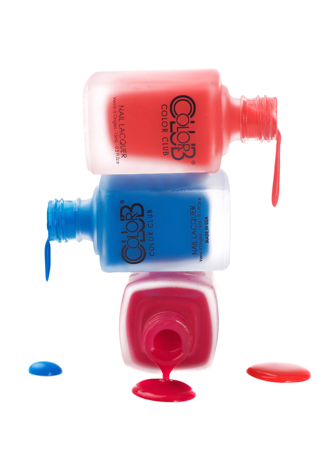 Color Club Perfect Pout Matte Rouge Nail Polish