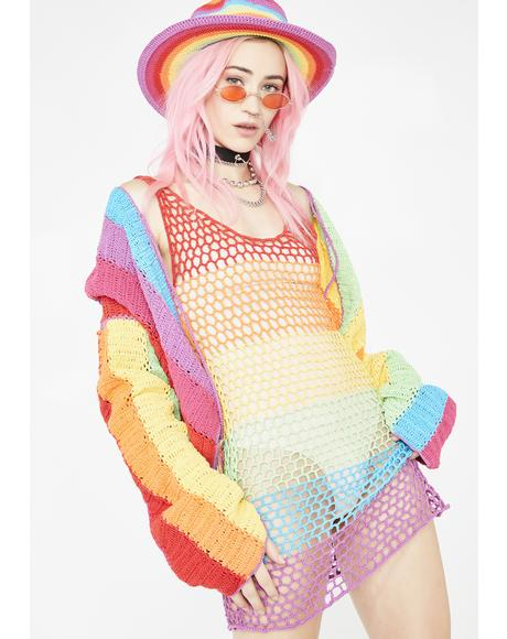 Chi Chi Rainbow Mini Dress