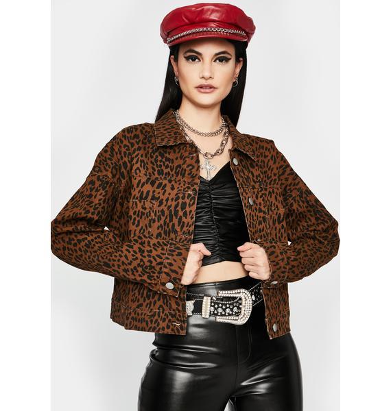 Can't Get Enough Leopard Jacket