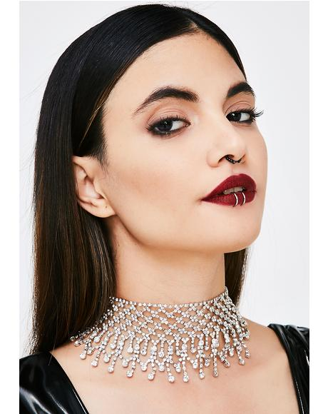 Young Money Rhinestone Choker