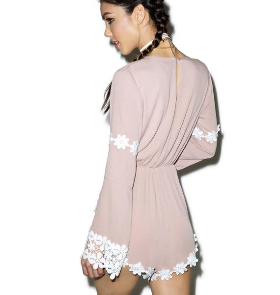 Celeste Long Sleeve Romper