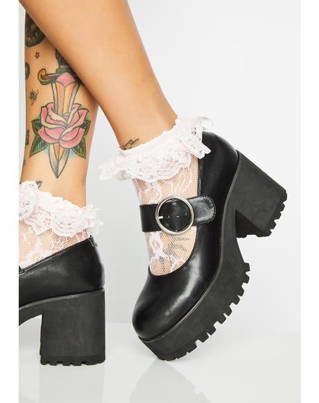 Dreampop Lace Socks