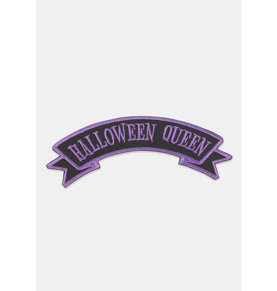 Kreepsville 666 Halloween Queen Arch Patch