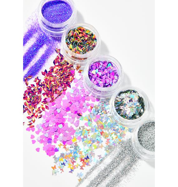 dELiA*s by Dolls Kill More Sparkly Than Dull Glitter Stack