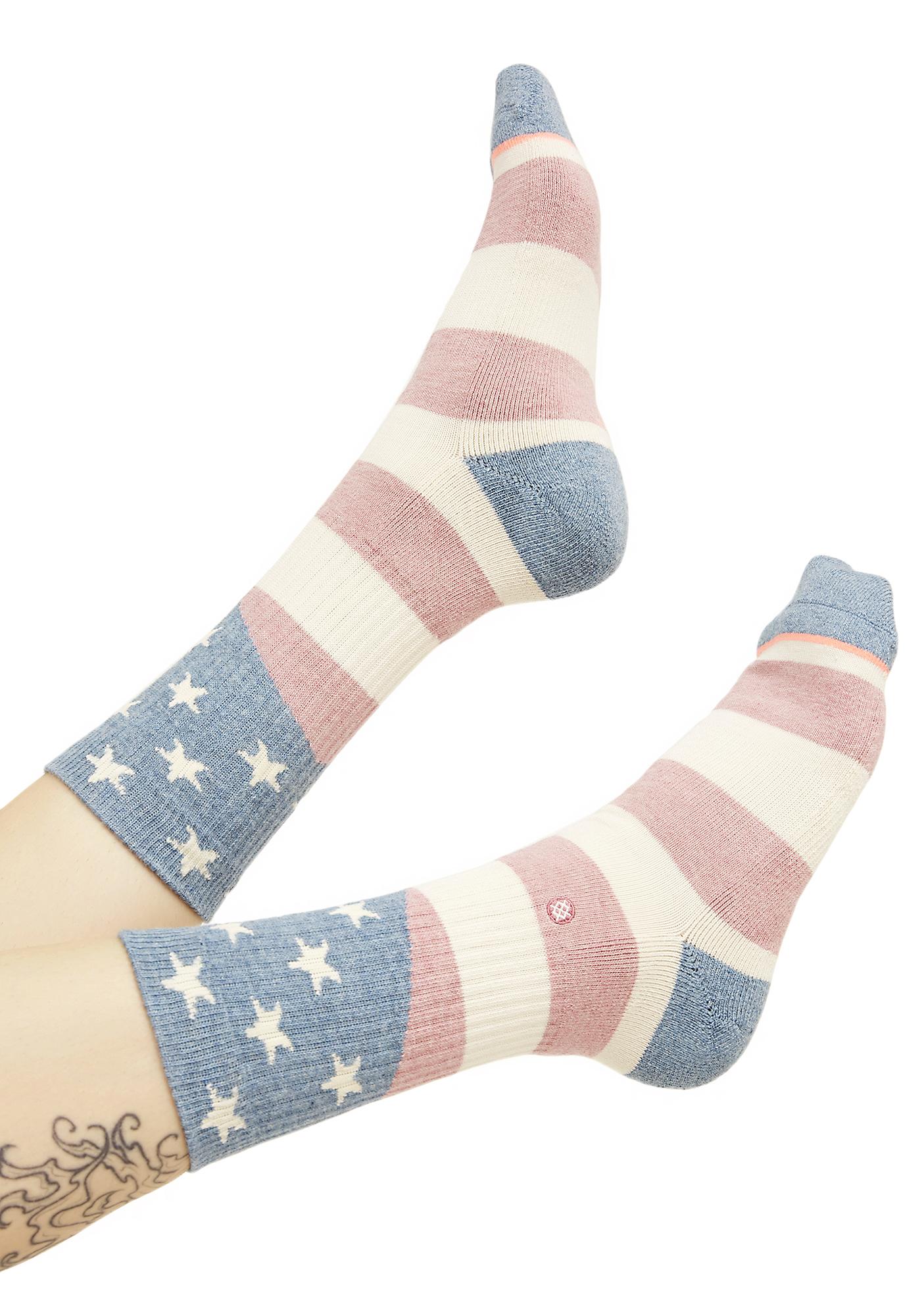 Stance Miss Independent Crew Socks