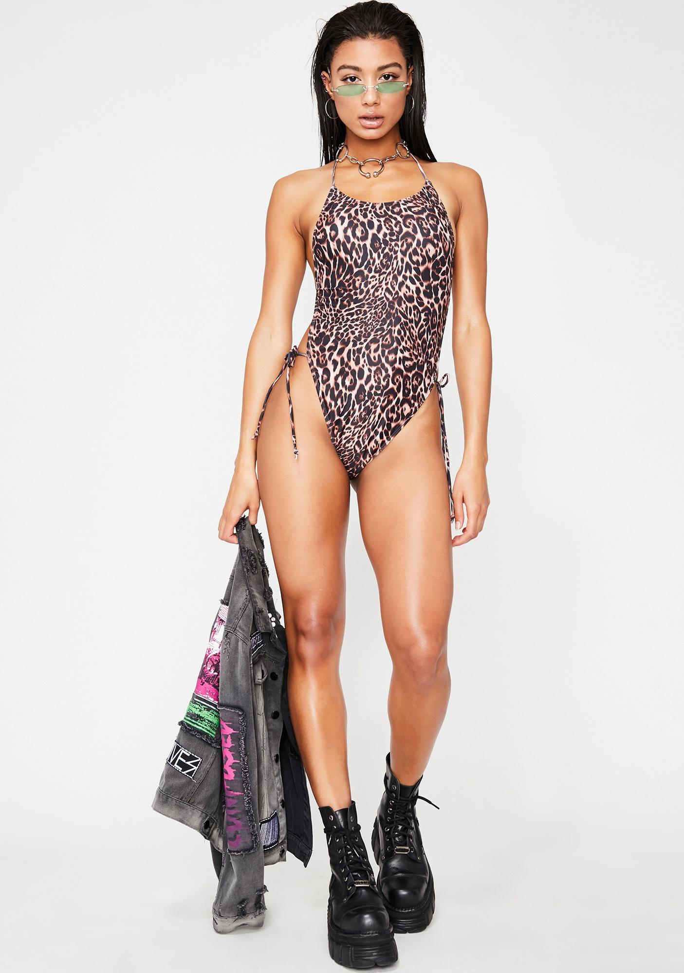 Motel Leopard Lucky Swimsuit
