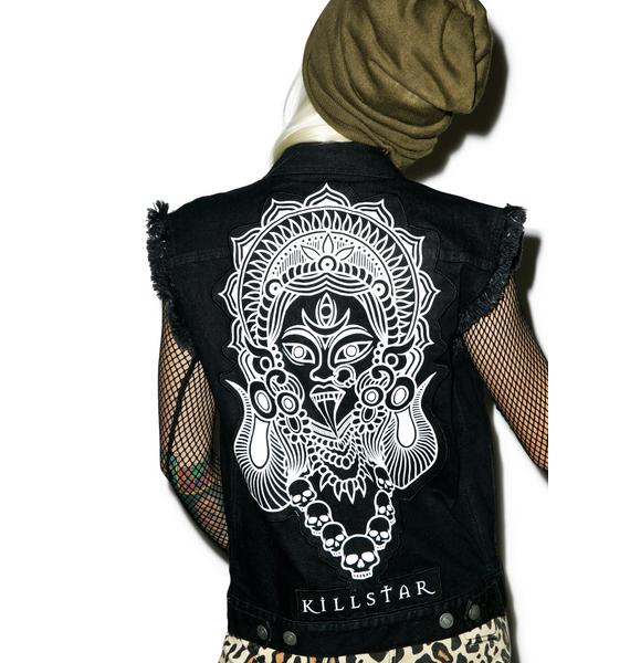 Killstar Kali Denim Vest