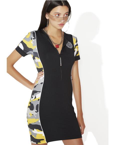 Camo Mini Dress