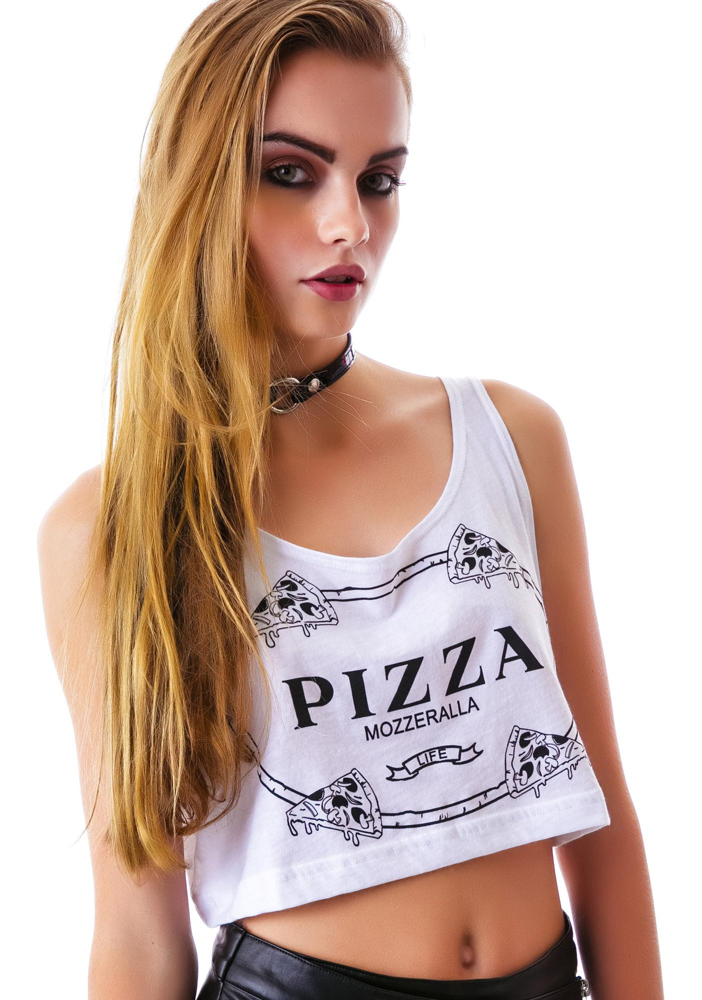 Slice of Luxury Crop Tank