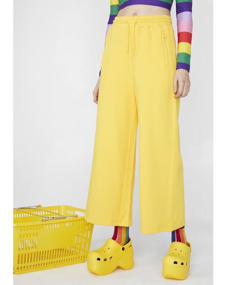 Banana Track Pants