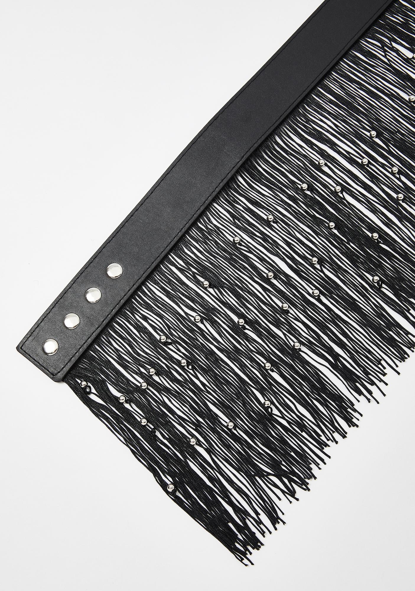 Shake It Off Fringe Belt