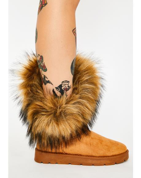 Frost Bite Faux Fur Boots