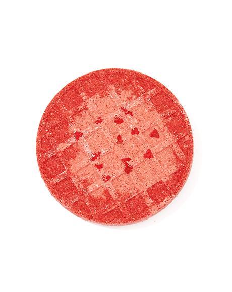 Strawberry Jam Waffle Bath Bomb