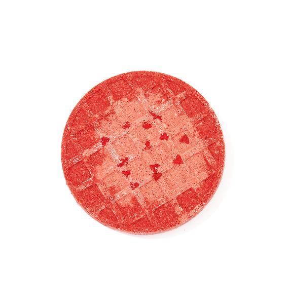 Sugar Milk Co Strawberry Jam Waffle Bath Bomb