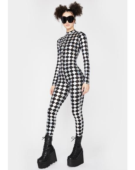 Chrome Sonic Supernova Checkered Jumpsuit