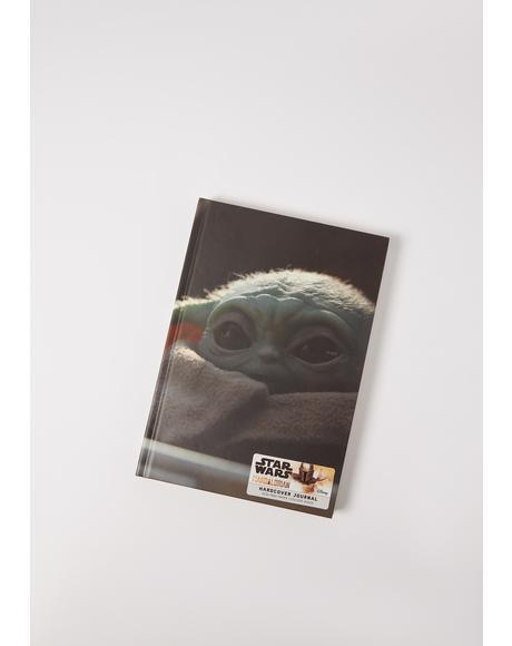 Star Wars Mandalorian Hardcover Journal